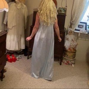 NWT Floor length long satin nightgown